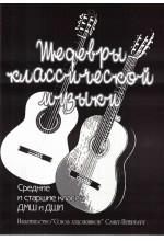 Шедевры классической музыки. Переложение для  2-х гитар.  Автор - Бровко В.
